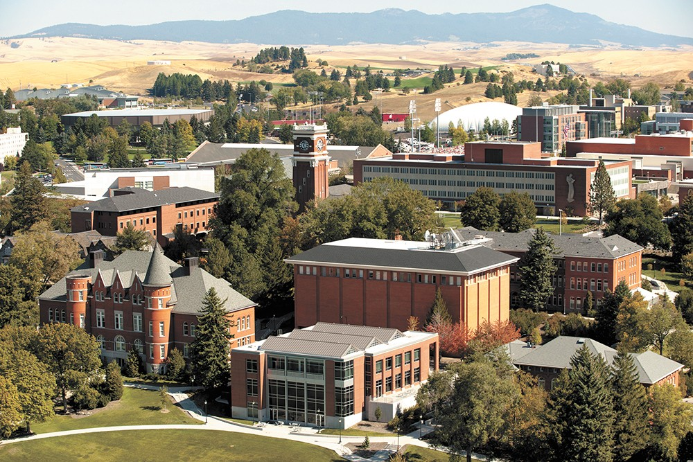 WSU's Pullman campus. - WSU PHOTO
