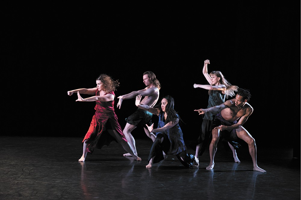 The Mark Morris Dance Group blends movement and community service. - NAN MELVILLE PHOTO