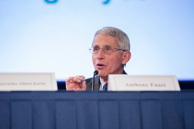 Dr. Anthony Fauci - PHOTO BY ANDREW PROPP FOR FOGARTY/NIH
