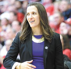 Coach Lisa Fortier - GONZAGA UNIVERSITY PHOTO