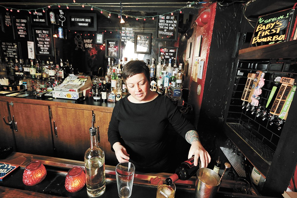 """""""It's like you're going to your grandma's house for your family reunion,"""" says Baby Bar's co-owner Patty Tully. - YOUNG KWAK PHOTO"""