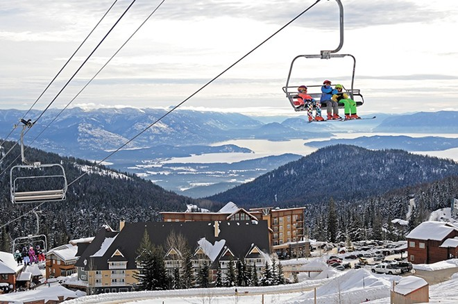 Schweitzer Mountain Resort is shutting down operations at the end of the day.