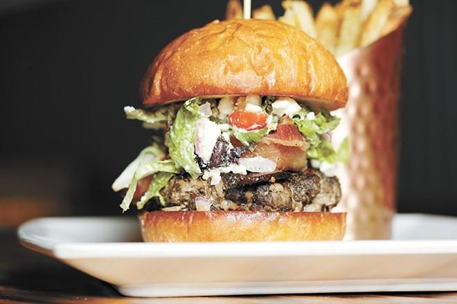 Prohibition Gastropub's customer-favorite Voot Burger. - YOUNG KWAK PHOTO