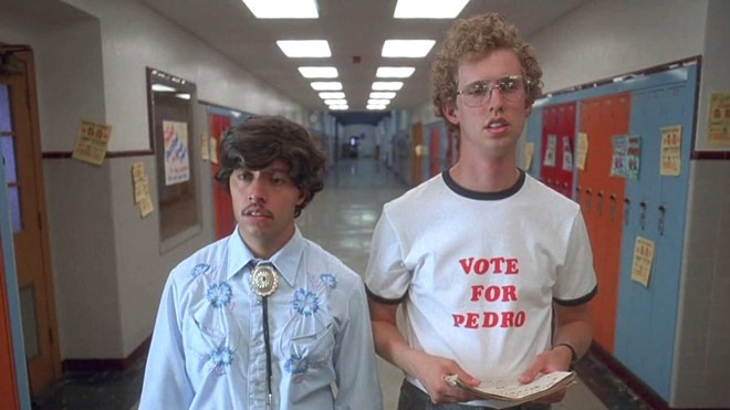 Efren Ramirez and Jon Heder will appear in Spokane on Nov. 12 with their cult film Napoleon Dynamite.
