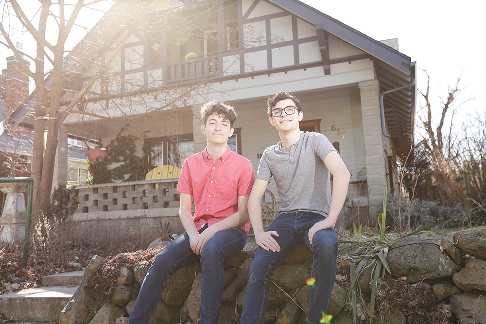 Jack (left) and Sam Morehouse - YOUNG KWAK