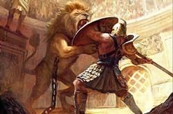 A free online discussion of Roman gladiators happens April 9. - MAC