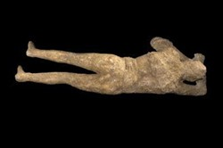 Explore the fact and fiction of body casts made from preserved victims of the volcanic blast from Mount Vesuvius on April 30. - MAC