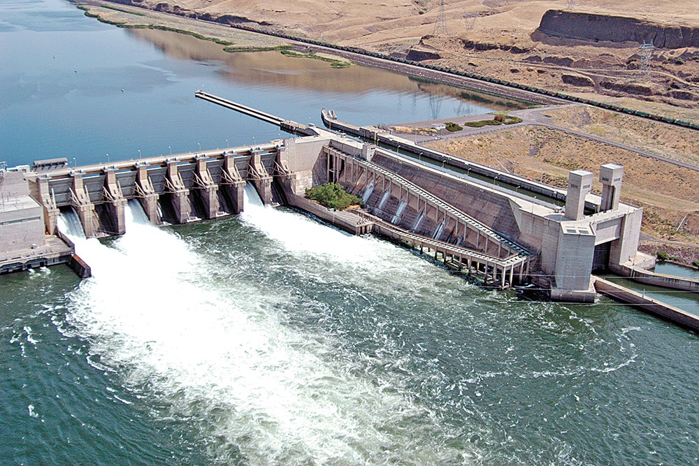 The debate around the four lower Snake River dams is continuing, though it's become harder to speak up during a pandemic. - BONNEVILLE POWER PHOTO