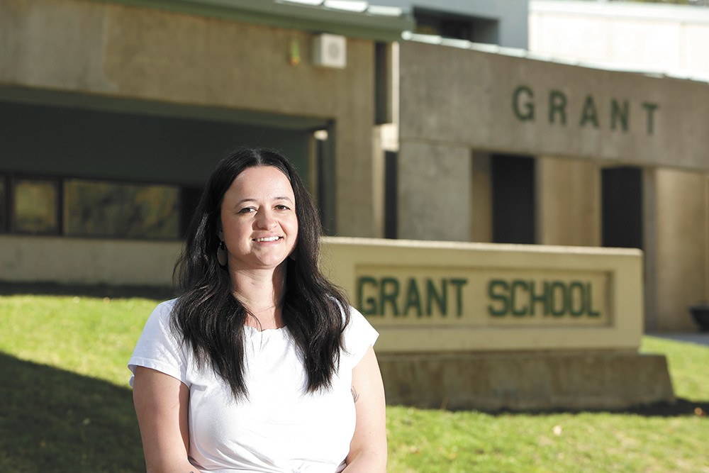 Grant Elementary School Counselor Madeline Sells. - YOUNG KWAK PHOTO