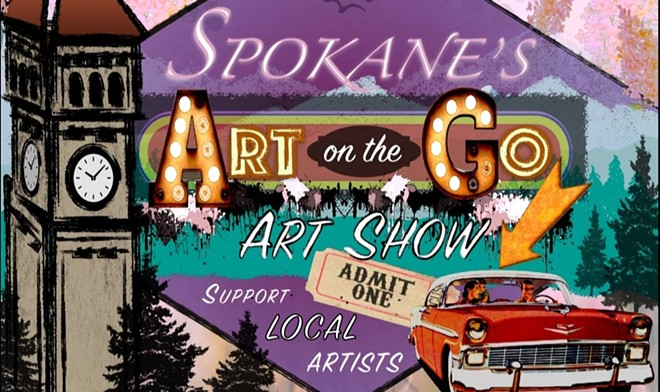 Get ready to cruise and see some local art on Saturday, from the comfort of your own car. - ART ON THE GO