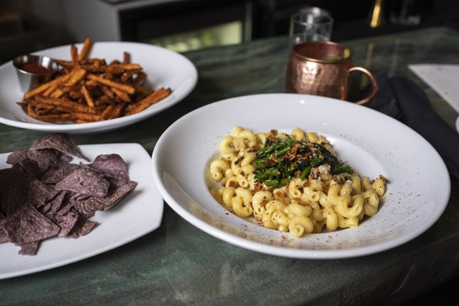 Soon you can get Rüt's vegan, truffle mac and cheese to-go.