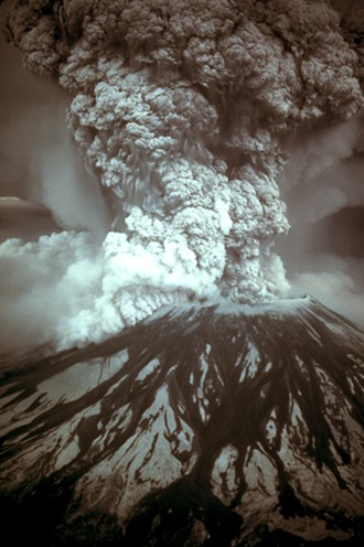 Mount St. Helens forcefully erupted 40 years ago, on Sunday, May 18, 1980.
