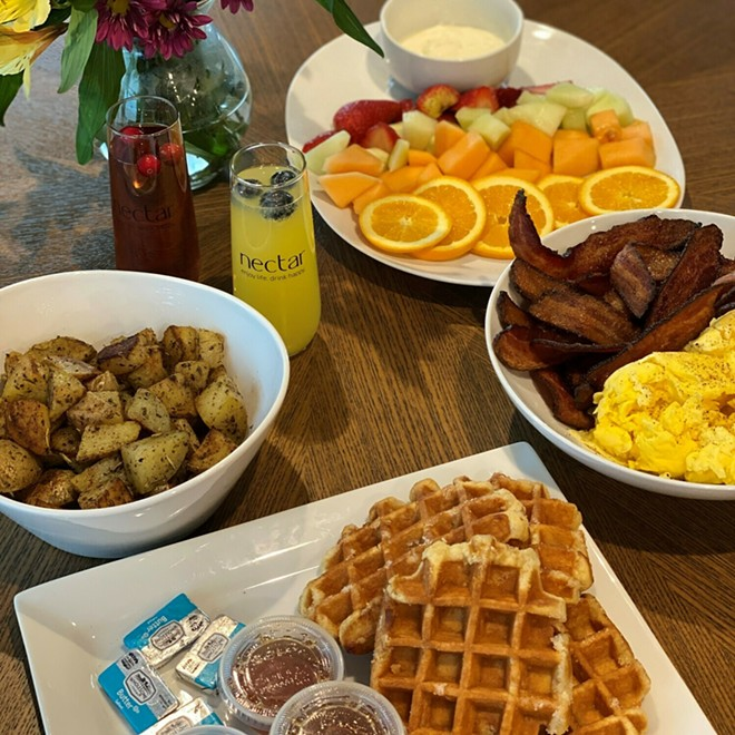 Order Nectar's Mother's Day brunch spread for as many guests as you'd like. - NECTAR CATERING & EVENTS