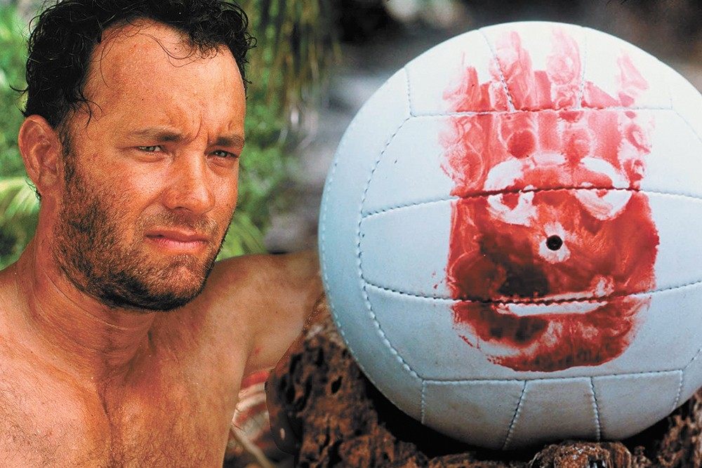 The star of Cast Away and Tom Hanks.