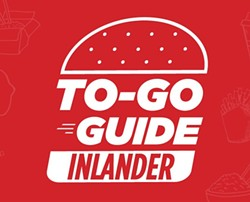 """You can sort our To-Go Guide by area, cuisine and other keywords. For each location that is offering takeout, you'll see a """"COVID-19 Notes"""" section at the top of the entry. Click the image to visit the Inlander's To-Go Guide."""