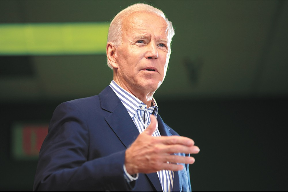 """Joe Biden knows """"a lot of weed smokers."""" - GAGE SKIDMORE PHOTO"""