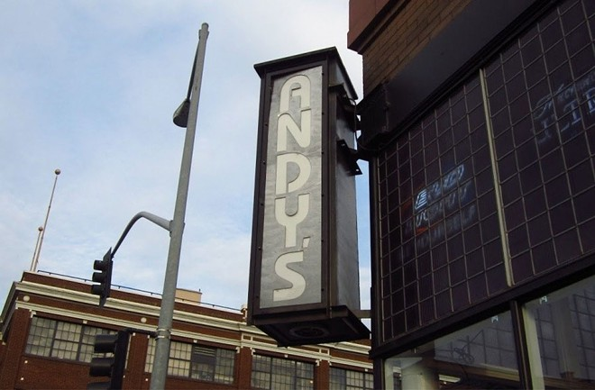 Popular but small watering hole Andy's is waiting until Phase 3 to open its doors. - DANIEL WALTERS PHOTO