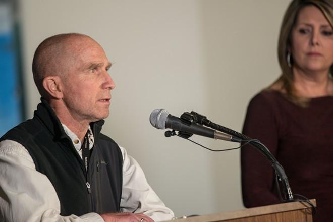 Dr. Bob Lutz, Spokane Regional Health Officer - DANIEL WALTERS PHOTO
