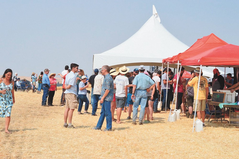 Drink in the Palouse at the Baronesse Barley Harvest Day at Joseph's Grainery.