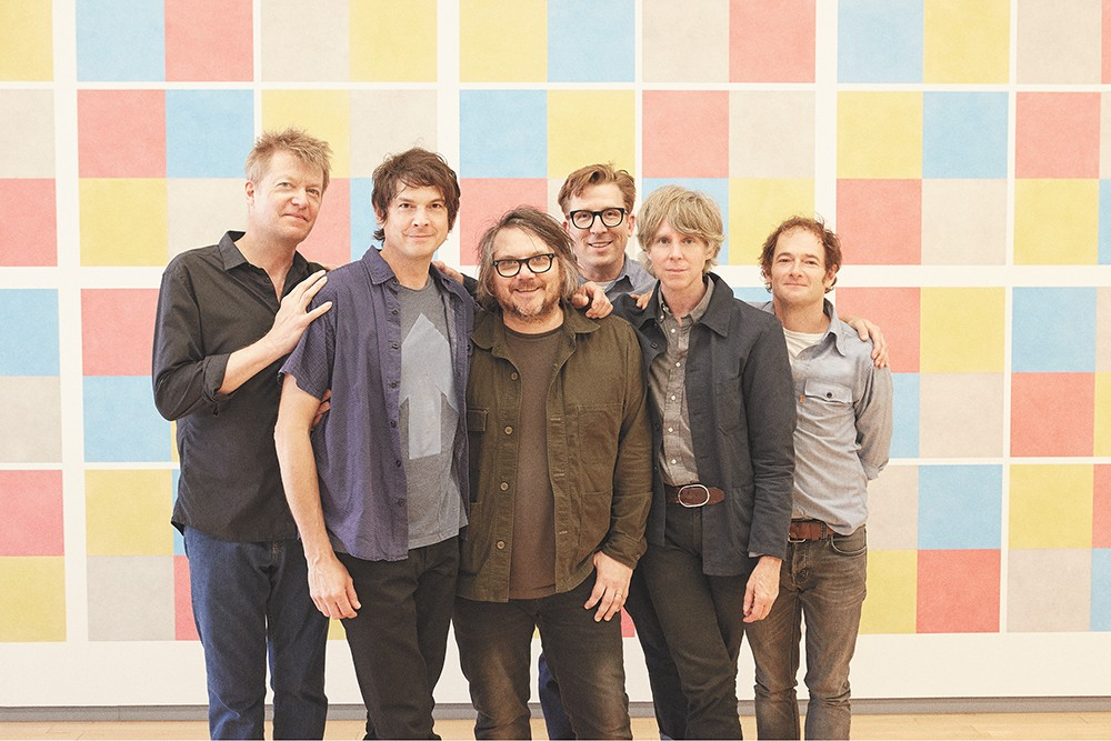 Wilco shares the bill with Sleater-Kinney on Aug. 6.