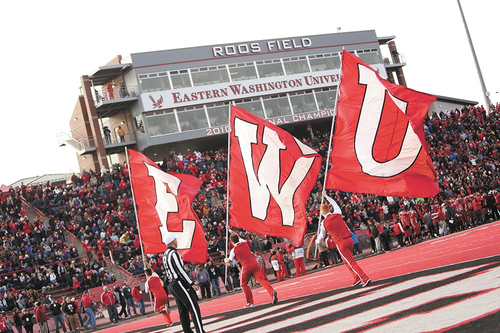 EWU is considering potential cuts to athletics that it previously rejected. - YOUNG KWAK PHOTO