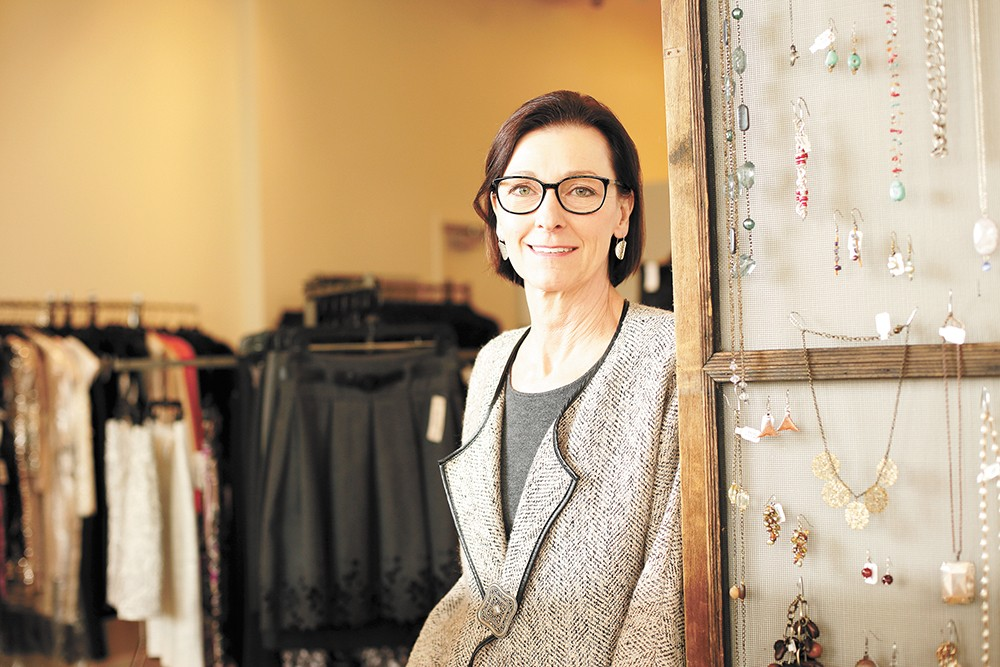 Suzy Gage, owner of Echo Boutique. - YOUNG KWAK PHOTO