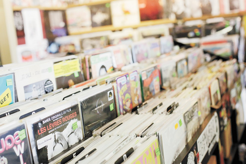 Local record stores have found new ways to service customers. - YOUNG KWAK PHOTO