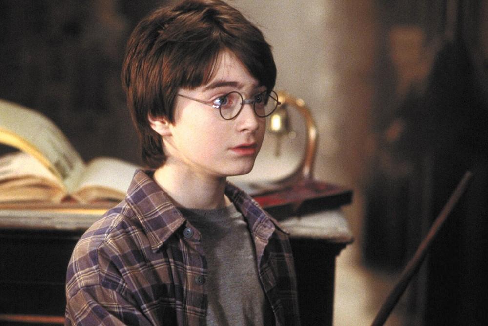 Daniel Radcliffe's hair has seen better days since 2001.