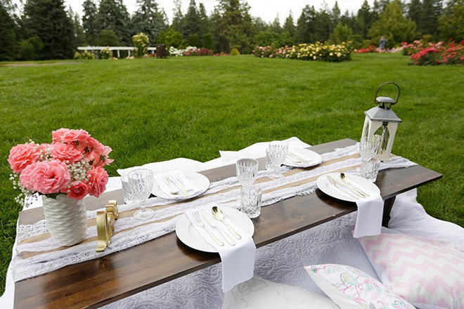 Pop Up Picnic Spokane packs the table, you pack the food. - YOUNG KWAK PHOTO