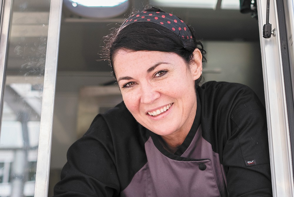 Jillian Gay founded Farmer's Daughter Food Truck. - HECTOR AIZON PHOTO