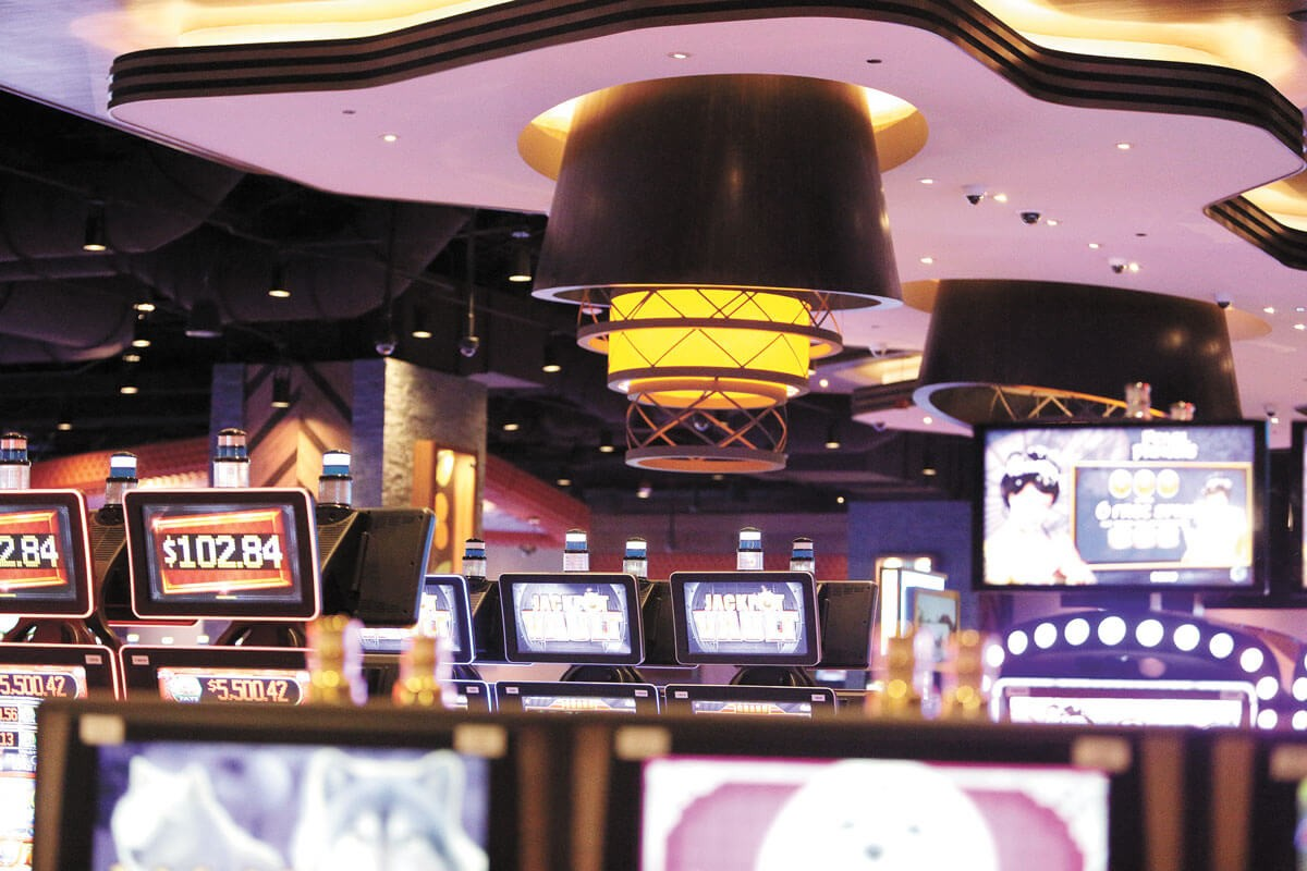 The Spokane Tribal Casino added several safety measures. - YOUNG KWAK PHOTO