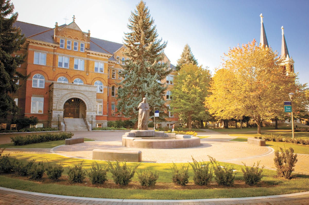 Gonzaga plans on in-person instruction this fall. - GONZAGA UNIVERSITY PHOTO