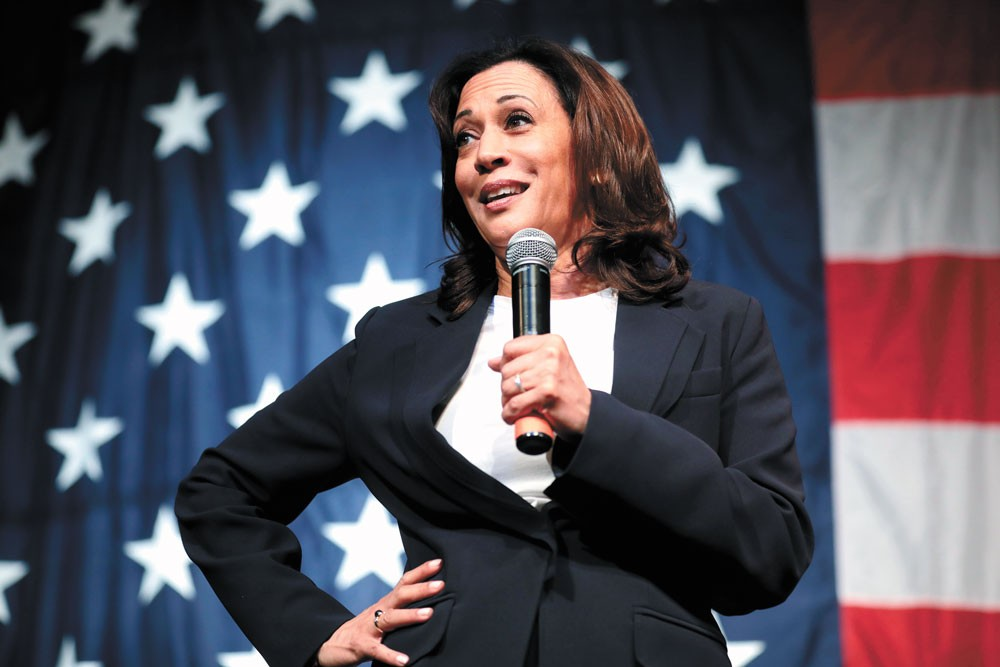 Sen. Kamala Harris of California is the first woman of color to be part of a major U.S. political party's national ticket. - GAGE SKIDMORE PHOTO