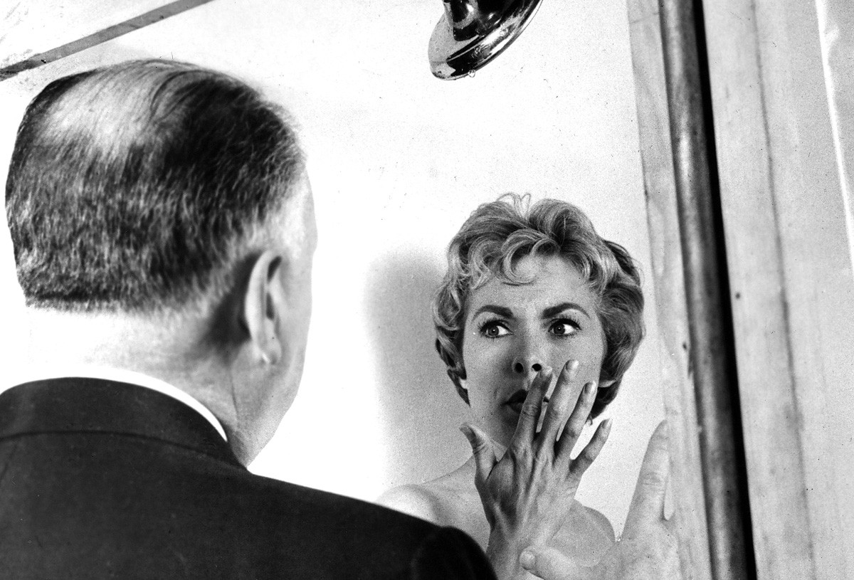 Janet Leigh's character Marion Crane is about to enjoy her last shower.