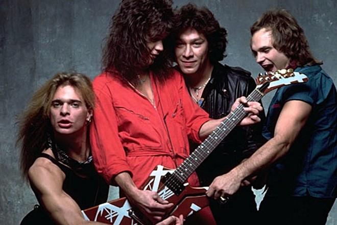 Van Halen in the early days. - WARNER BROS RECORDS