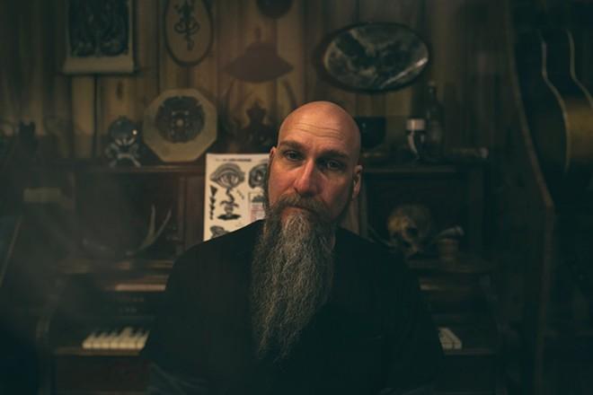 Steve Von Till, poet and musician - BOBBY COCHRAN