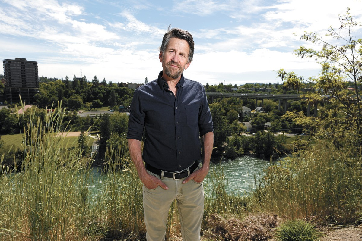 Jess Walter taps Spokane history in his latest novel The Cold Millions. - YOUNG KWAK PHOTO