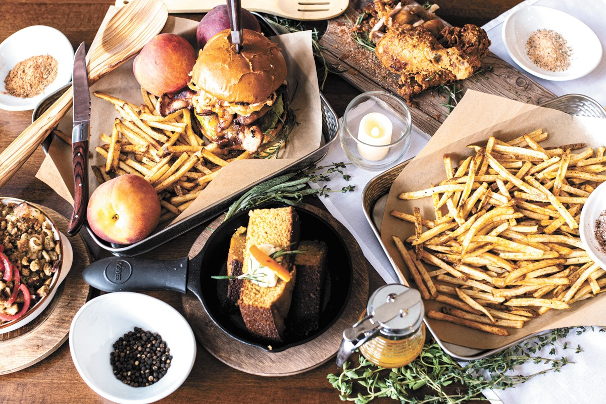 Southern-tinged flavors rule at Izzy's Comfort Kitchen, run by Reannan and Jason Keene. - REBECCA WALKER PHOTO