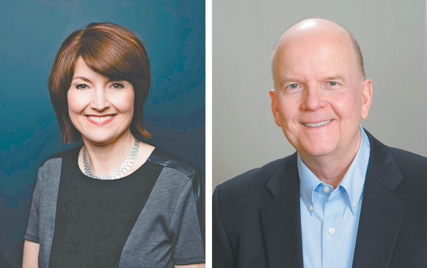 Cathy McMorris Rodgers (left) and Dave Wilson