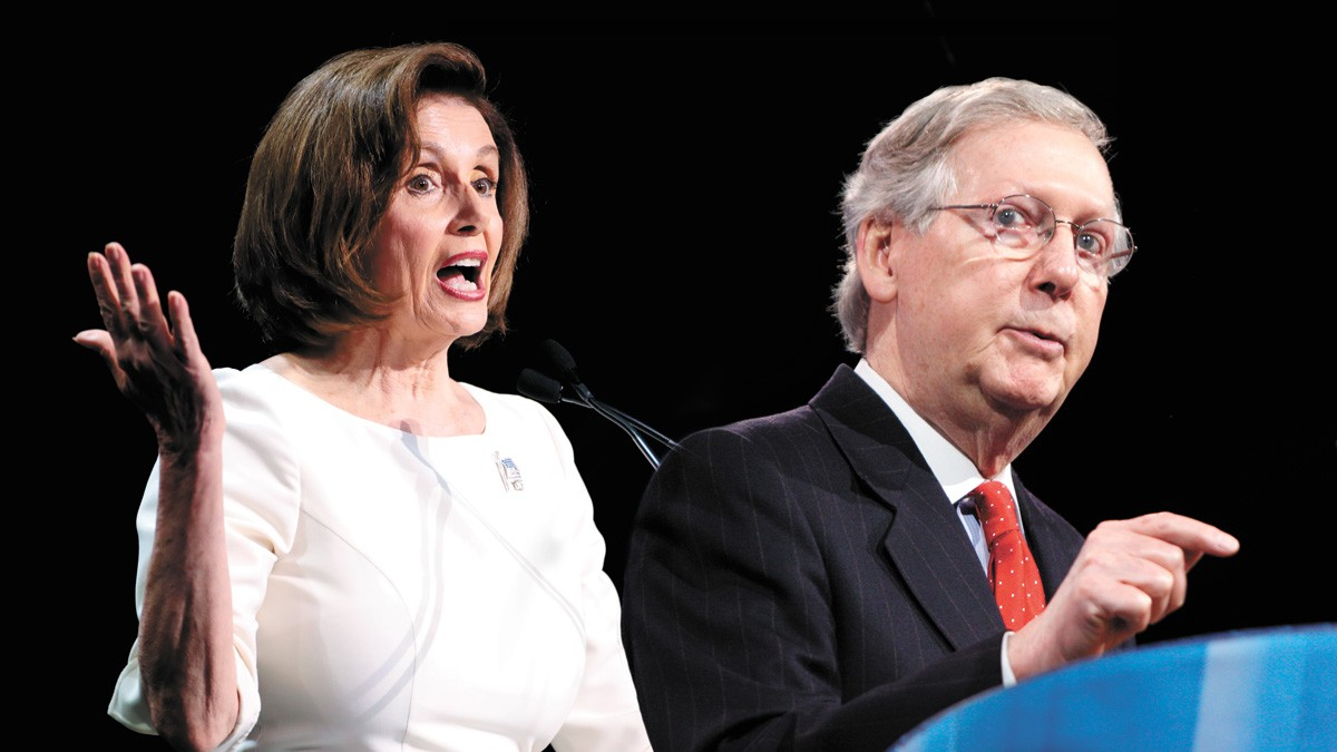 Those who point the finger at Speaker Nancy Pelosi need to know that the House passed a stimulus bill in May, and Sen. Mitch McConnell has sat on it all summer.