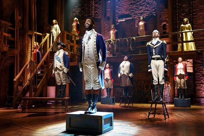 Hamilton heads will have to wait a year longer than expected to see the Broadway hit on a Spokane stage. - JOAN MARCUS PHOTO