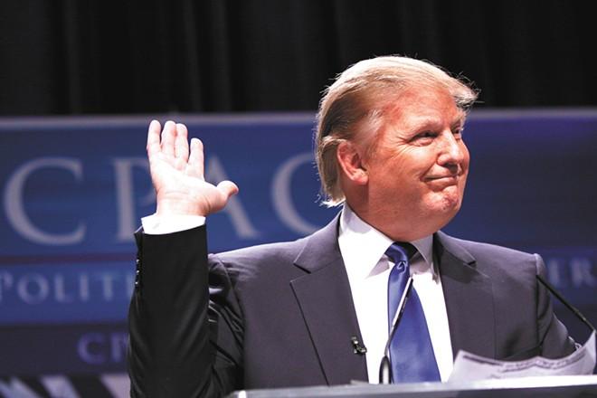 At least President Trump has the Spokesman-Review's endorsement.
