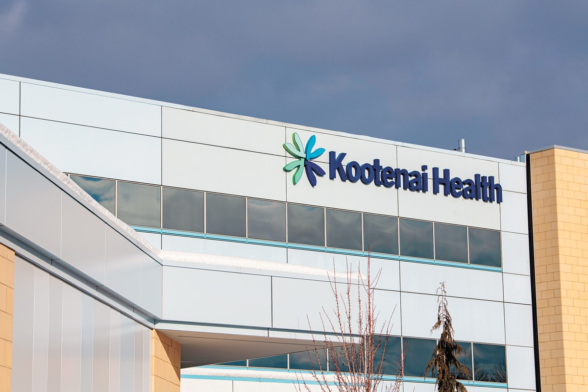 Kootenai Health in Coeur d'Alene has been so full that it's had to send patients to other hospitals. - ERICK DOXEY PHOTO