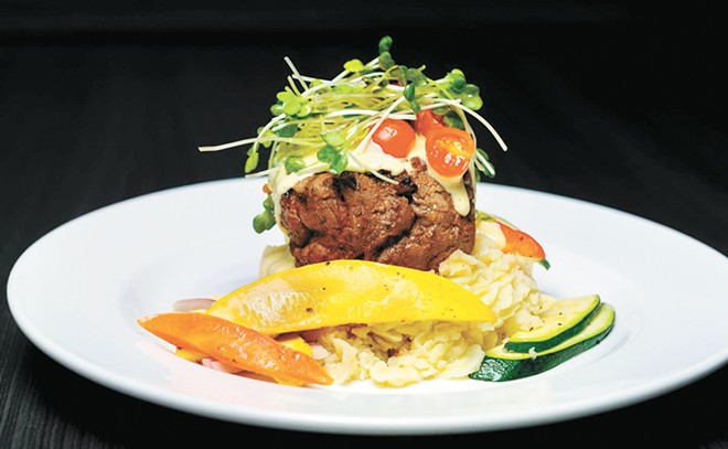 Smoked filet mignon from Sandpoint's Forty-One South. - COURTESY FORTY-ONE SOUTH