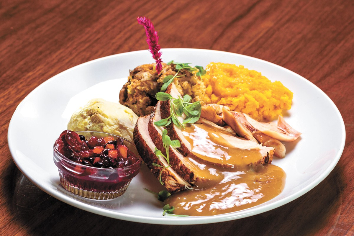 Beverly's is one local spot offering Thanksgiving treats. - COEUR D'ALENE RESORT PHOTO