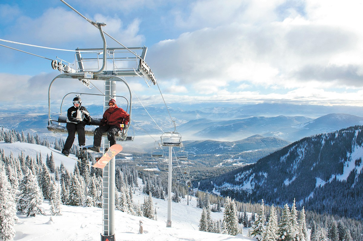 Red Mountain boasts 119 runs. - RED MOUNTAIN RESORT PHOTO