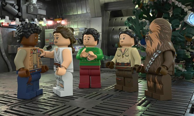 The Lego Star Wars Holiday Special premieres Tuesday on Disney+