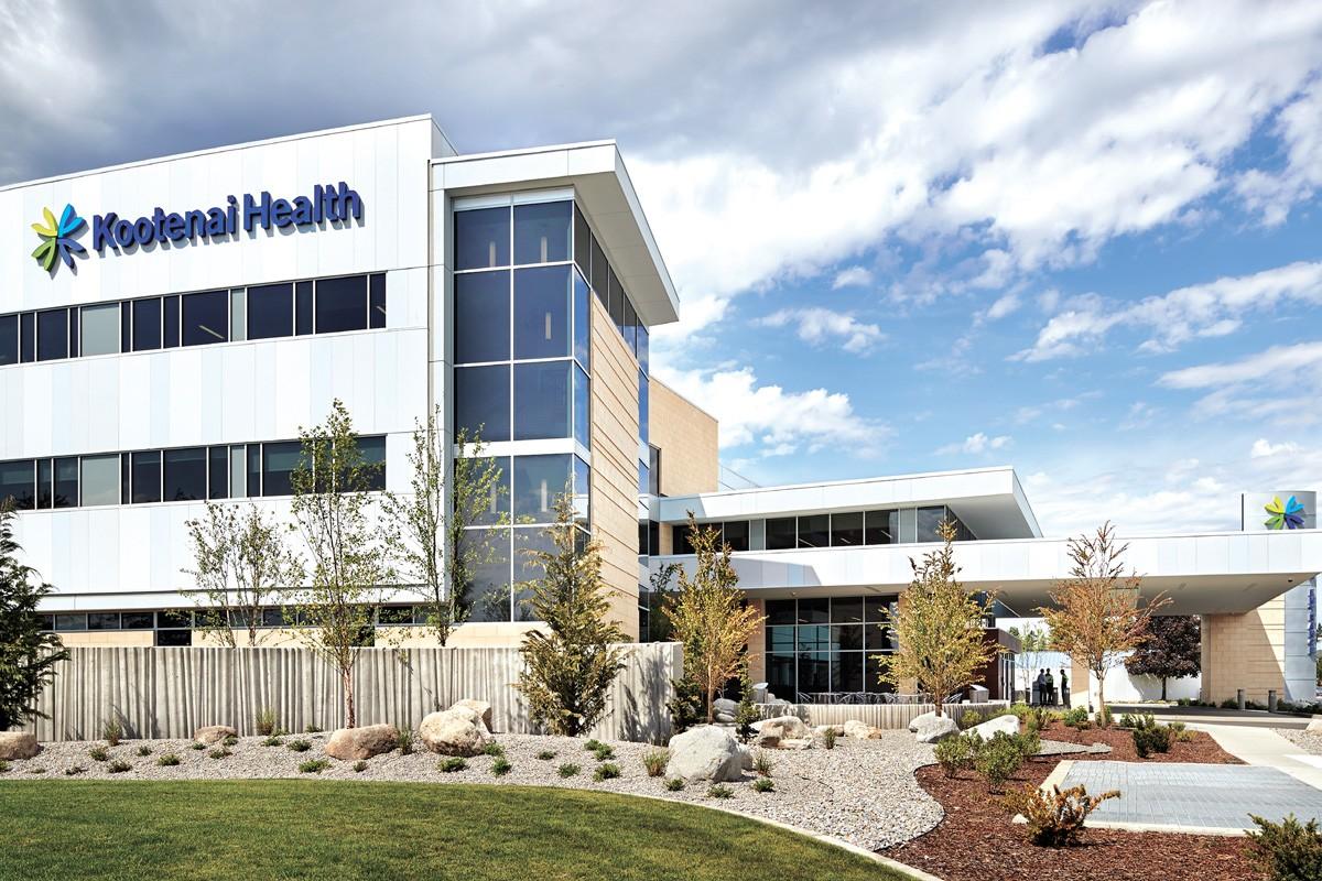 Kootenai Health has had to divert patients. - KOOTENAI HEALTH PHOTO