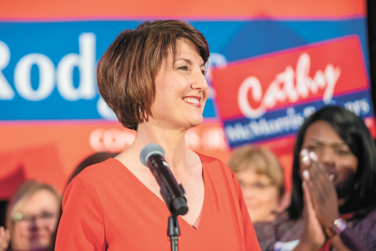 The author once thought that Cathy McMorris Rodgers was a person of principle. Lately, not so much. - ERICK DOXEY PHOTO
