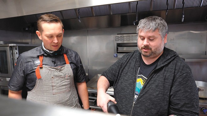 Eat Like a Chef takes Spokane cooking to television.